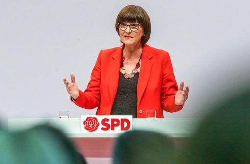 Hat die neue SPD-Vorsitzende Mitarbeiter ausspioniert?