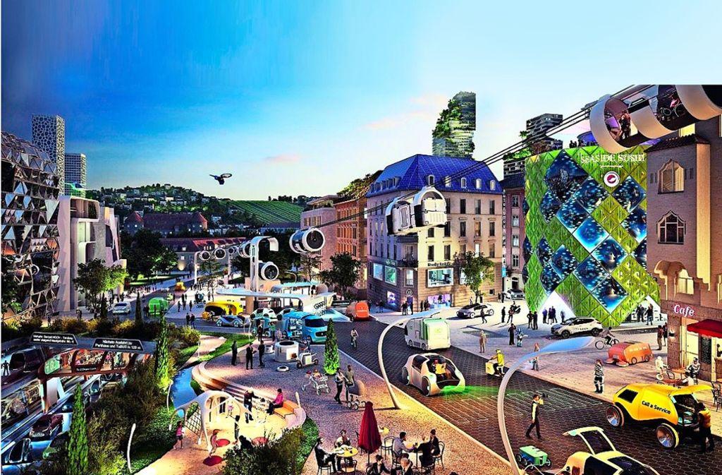 Wie sieht die Zukunft aus? Foto: Daimler-Future Innovations/Realisierung XOIO