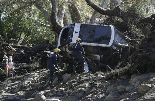 Weitere Opfer aus kalifornischer Schlammlawine geborgen