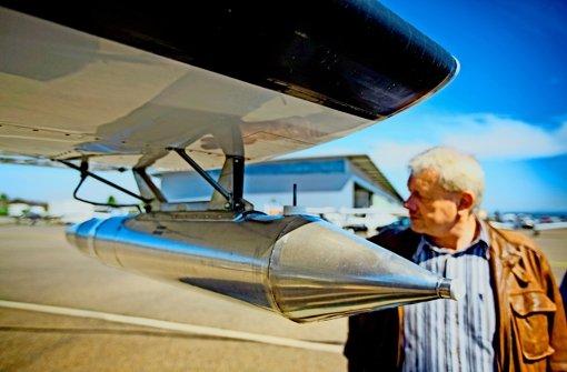 Hagelflieger   kräftig im  Aufwind