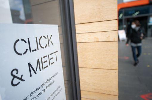 Click and Meet schon am Freitag?