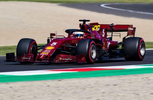 Vettel ohne Chance - Nächste Pole Position für Hamilton