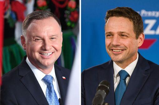 Kandidaten bei Präsidentenwahl nahezu gleichauf