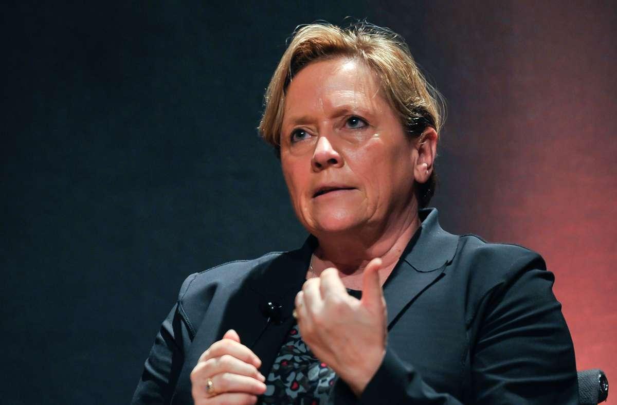 Die Chancen auf ein Direktmandat in Stuttgart stehen für Susanne Eisenmann nach der Auszählung in den  ersten Wahllokalen nicht gut. Foto: Lichtgut/Max Kovalenko