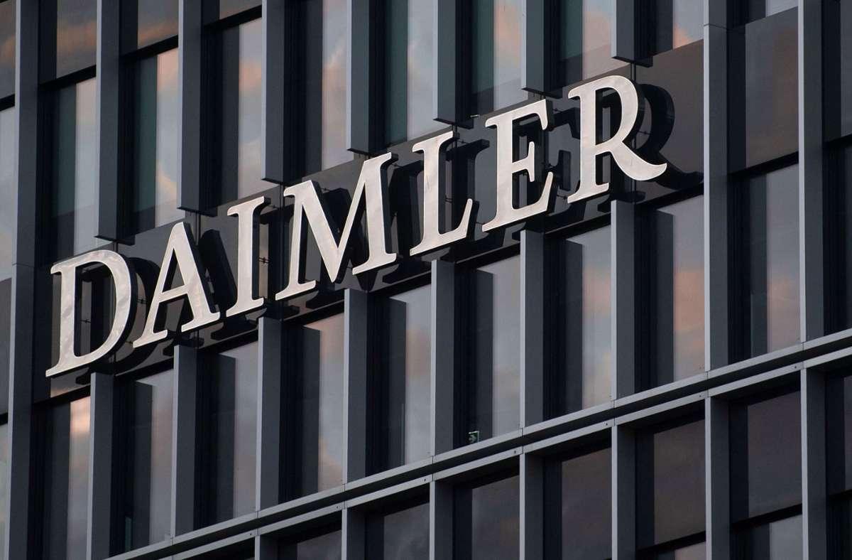 Schadenersatz-Klagen gegen Daimler wegen des Thermofensters haben immer weniger Aussicht auf Erfolg. (Archivbild) Foto: dpa/Marijan Murat