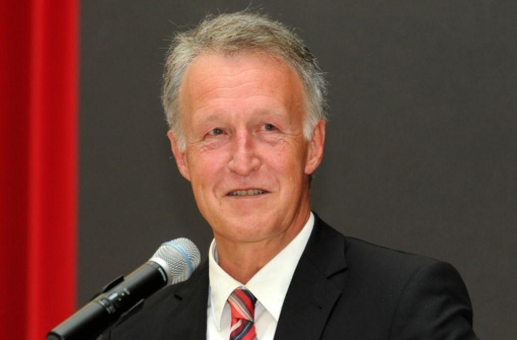 Leinfelden-Echterdingens Oberbürgermeister Roland Klenk Foto: Bergmann