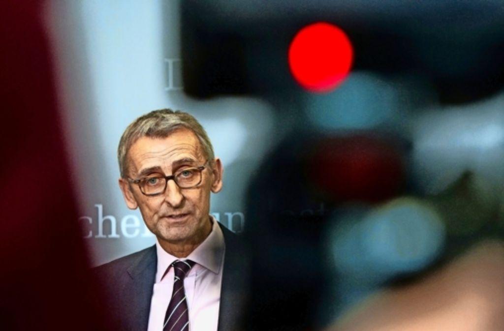 Der Bundestagsabgeordnete Armin Schuster aus Lörrach widerspricht der Kanzlerin. Foto: dpa