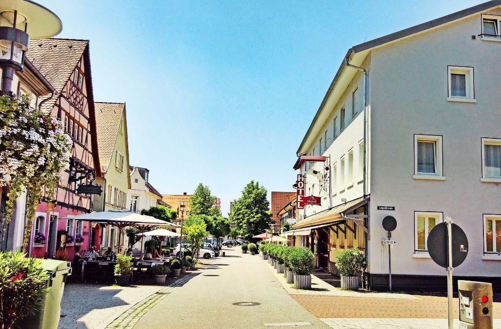 Im Ortskern wirkt Walldorf wie eine  beschauliche  badische Kleinstadt. Doch ein paar Hundert Meter weiter sieht es aus wie im Silicon Valley. Foto: Steve Przybilla