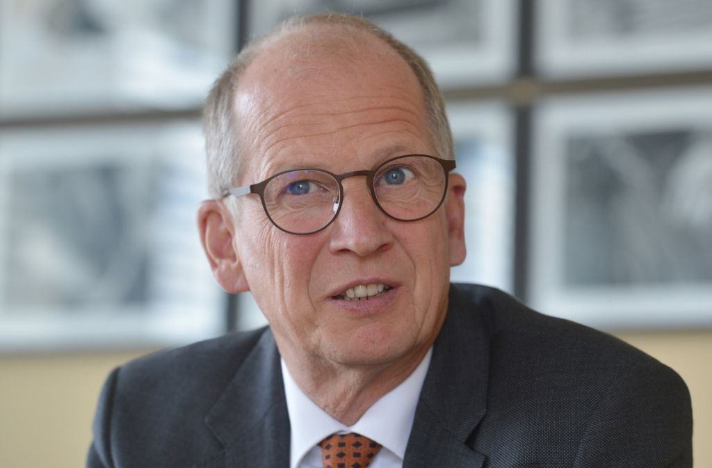 Handwerkspräsident Reichhold führt einen Elektrobetrieb in dritter Generation. Foto: dpa