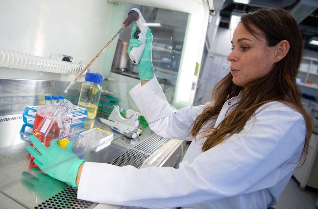 Die Kapazitäten für Tests auf das Coronavirus sollen deutlich erhöht werden. Foto: dpa/Sven Hoppe