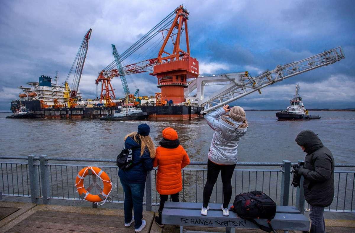 Die USA laufen Sturm gegen die Gas-Pipeline, weil sie eine zu große Abhängigkeit ihrer Partner in Europa von Russland sehen. (Archivbild) Foto: dpa/Jens Büttner