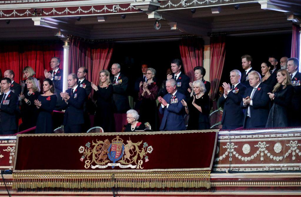 Am jährlichen Royal British Legion Festival of Remembrance in der Royal Albert Hall war auch die fleißige Prinzessin mit dabei. Es ist... Foto: dpa/Chris Jackson