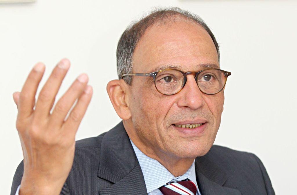 Hany Azer ist nun Träger des Bundesverdienstkreuzes. Foto: