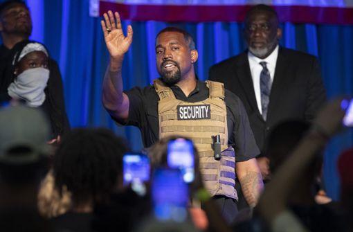Kanye West verwirrt mit bizarrer Twitter-Serie
