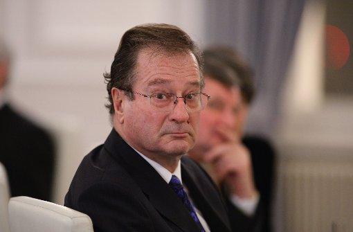 Klaus Kinkel wird Chef der DFB-Ethikkommission
