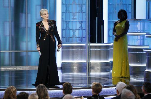 Meryl Streep für politische Trump-Rede gefeiert