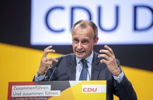 Union will Merz weiter an die Partei binden