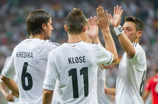 DFB-Elf auf Kurs nach Brasilien