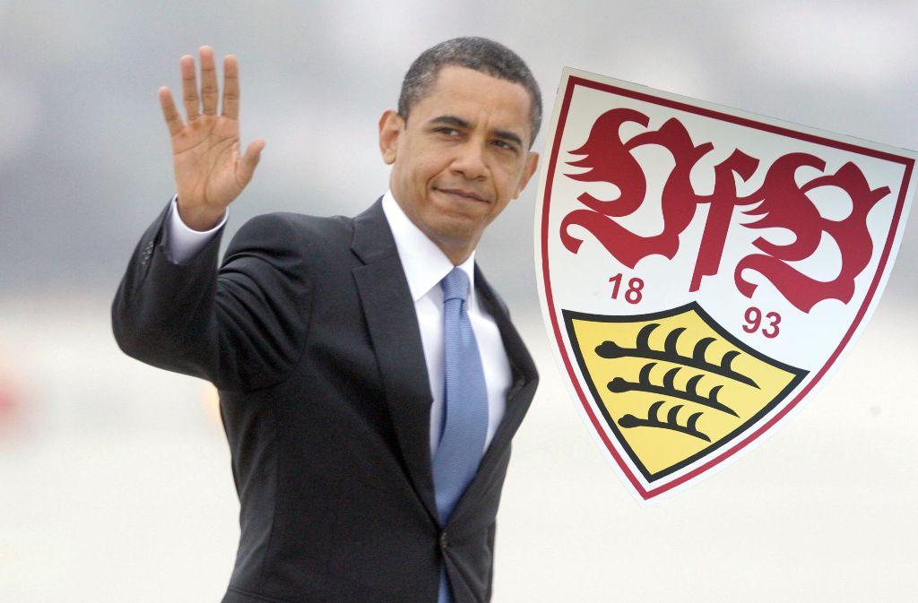 Findet der scheidende US-Präsident Obama eine neue Aufgabe beim besten Zweitliga-Verein der Welt? Foto: AP/dpa, Montage: red