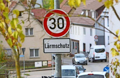 Kein Tempo 30 für die Ortsdurchfahrt