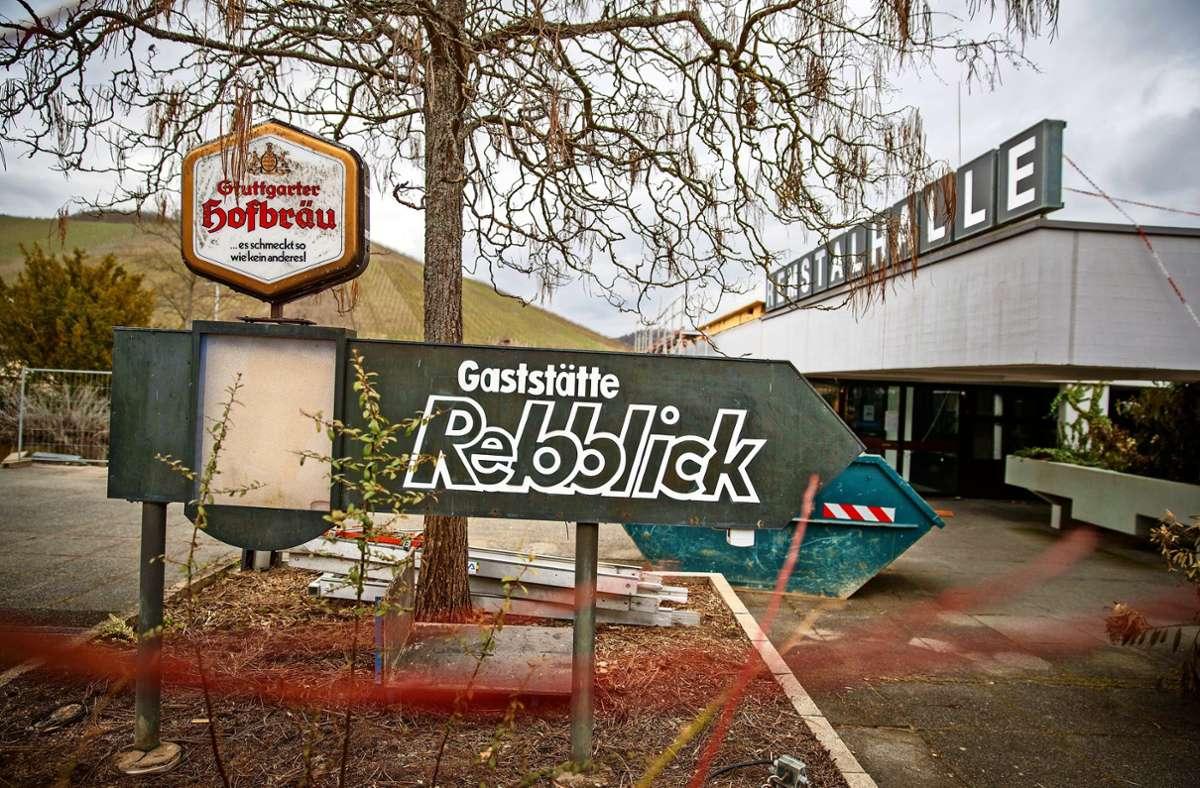 Das Restaurant an der Remstalhalle wird für 350000 Euro renoviert. Foto: Gottfried Stoppel