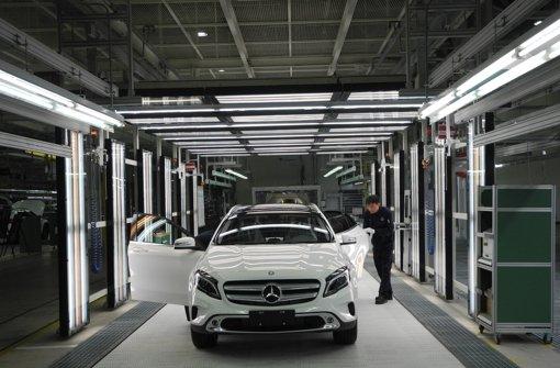 Daimler stockt Fertigung in China auf