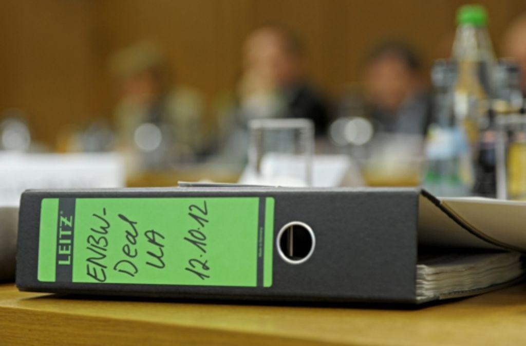 Der EnBW-Deal - die Hintergründe sind komplex. Foto: dpa