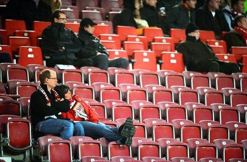Die Europa-League-Spiele des VfB Stuttgart locken nicht viele Fans ins Stadion. Foto: ddp