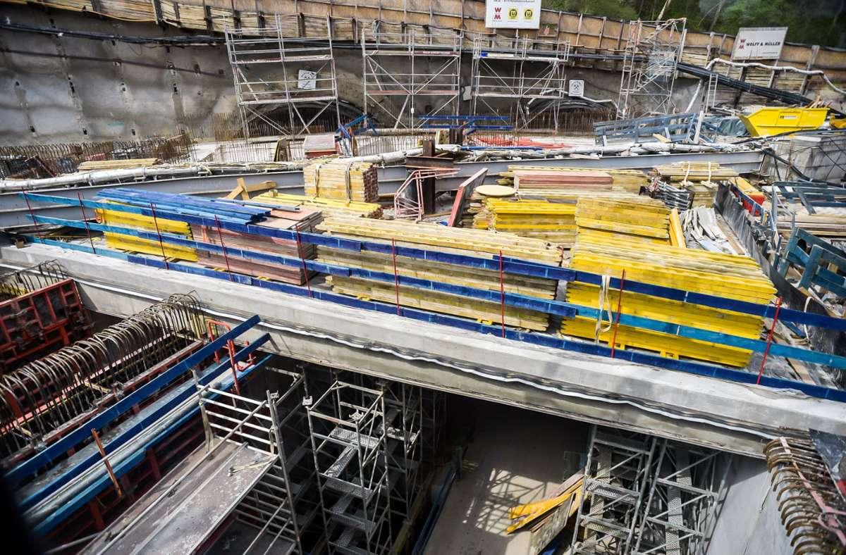 Baustellen in Stuttgart geraten derzeit  immer öfter ins Visier von Dieben. Foto: Lichtgut//Max Kovalenko