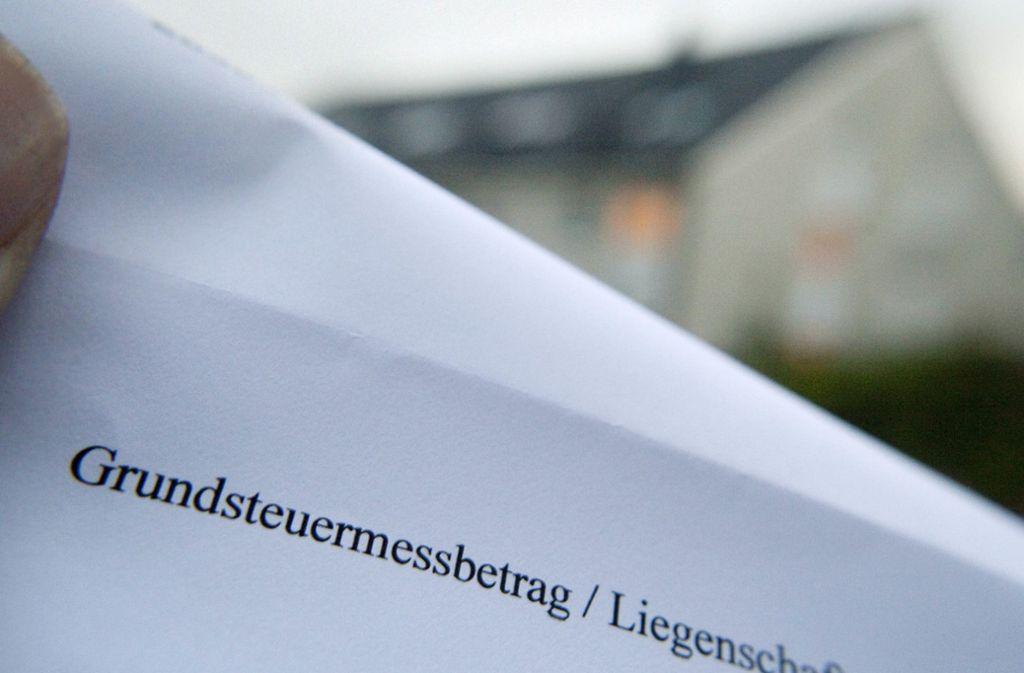 1,8 Milliarden Euro Grundsteuer pro jahr erhalten die Kommunen im Südwesten Foto: dpa
