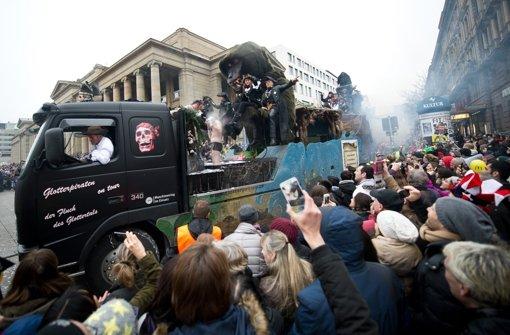 Die Zuschauer sollen sich beim Stuttgarter Umzug sicher fühlen. Foto: dpa