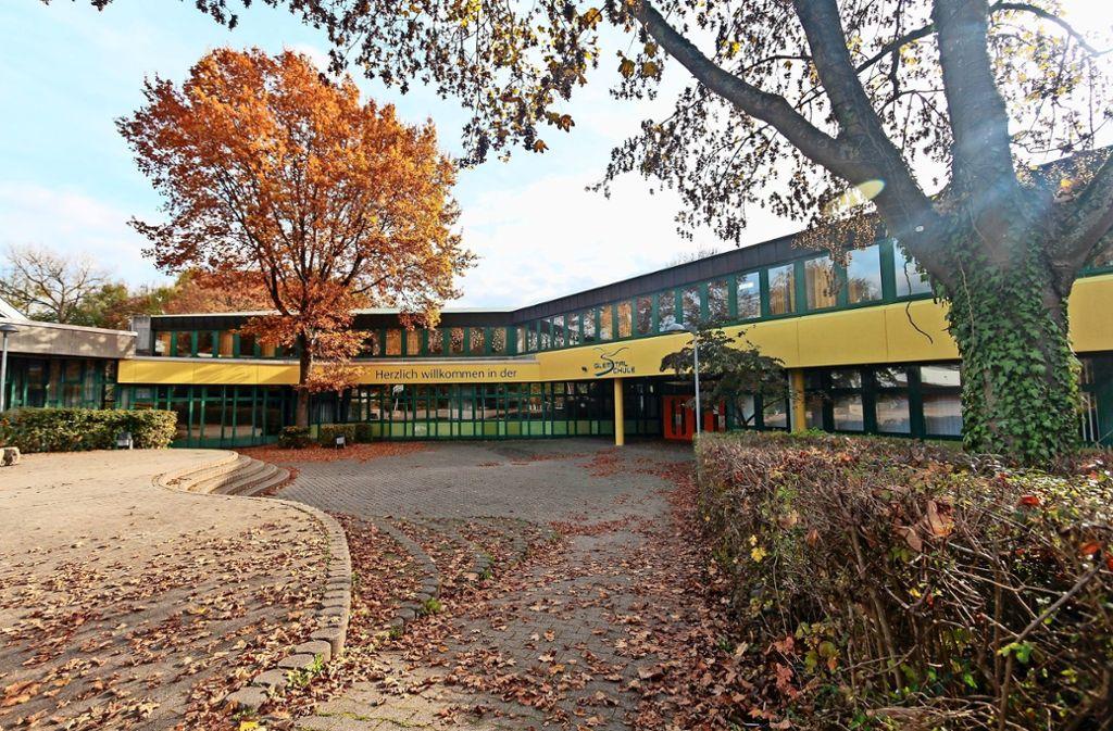 Die Schule muss saniert und erweitert werden. Offen ist, in welcher Form. Foto: factum/Archiv