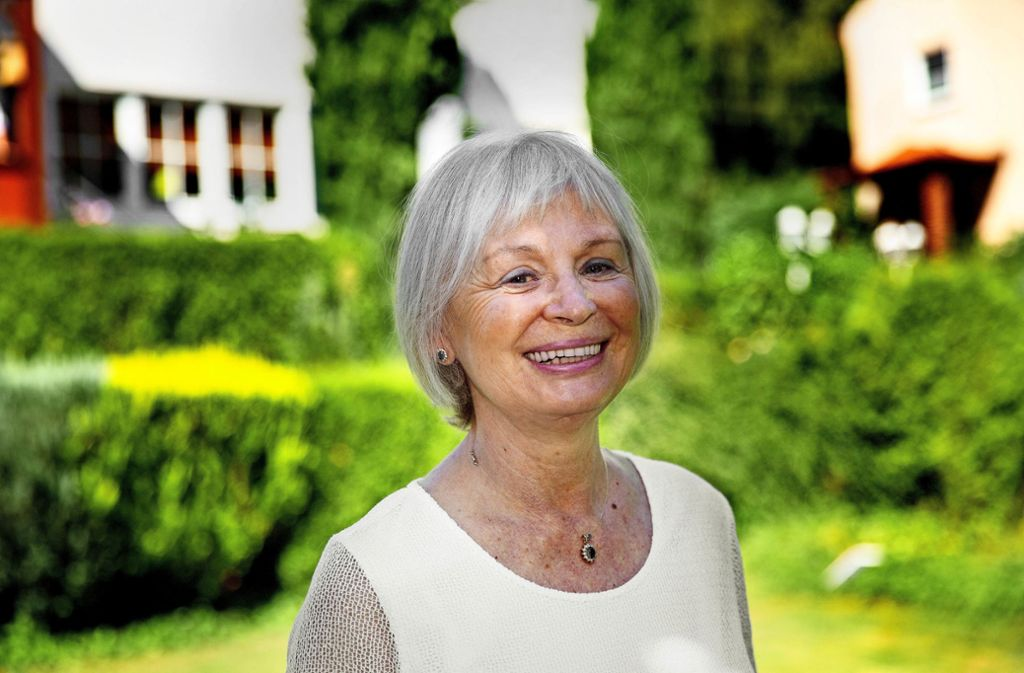 Brigitte Schreiner war die Leiterin der Grünen Damen in den Alb-Fils-Kliniken. Foto: