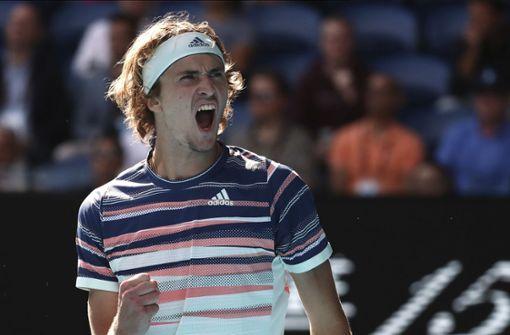 Alexander Zverev gewinnt erneut ohne Satzverlust