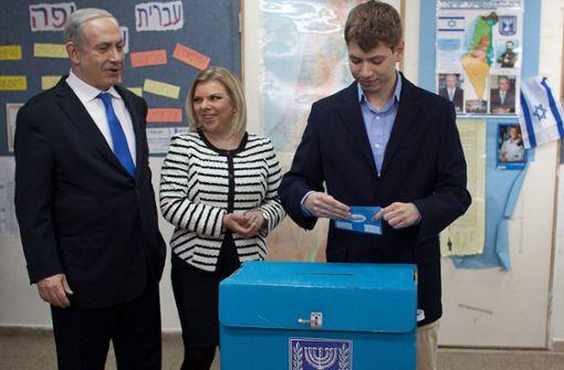 Brisante Aufnahme von Netanjahus Sohn Jair