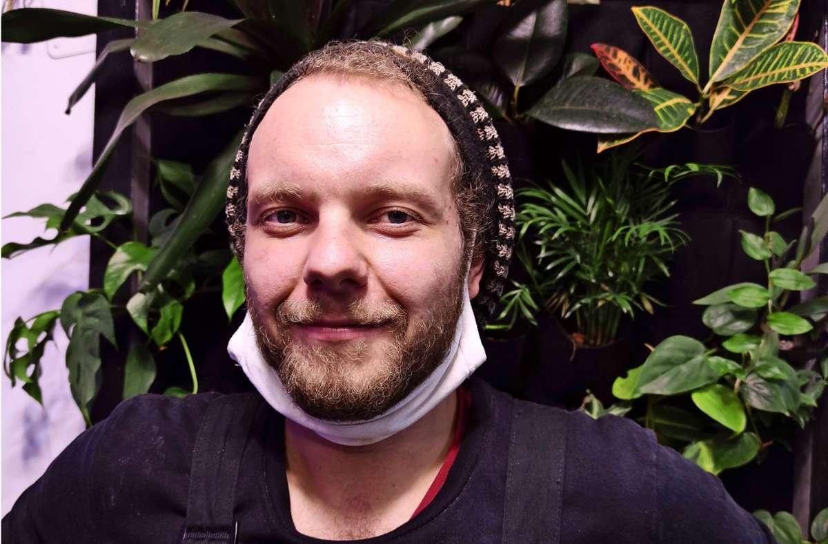 """Mensch und Pflanze ergänzen sich"""", davon  ist Marius Weitzer überzeugt. Foto: /Wesely/Wesely"""