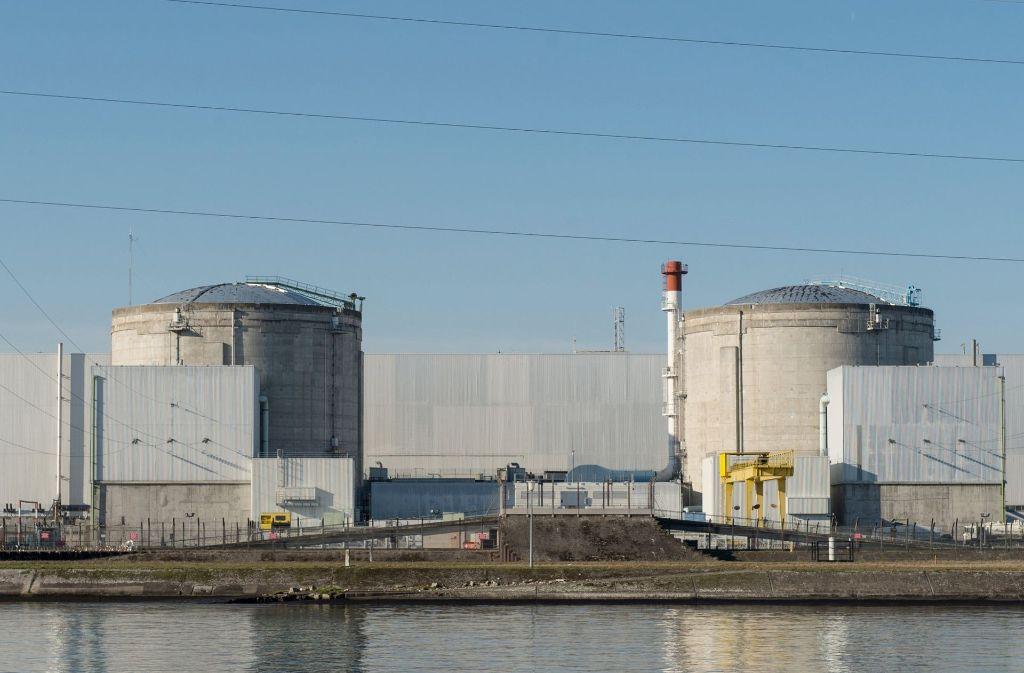 Fessenheim ist das älteste noch laufende französische Atomkraftwerk. Foto: dpa