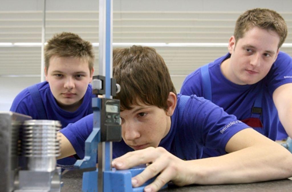 Die Kammern sehen die duale Ausbildung vor großen Herausforderungen. Foto: dpa