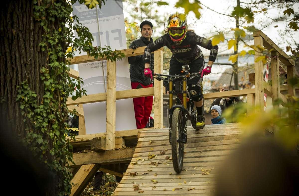 Würde die Stadt Stuttgart gern mehr tun für die Downhiller, als sie kann? Foto: Lichtgut/Max Kovalenko