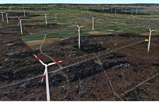 Gegensätzliche Visionen für die Windkraft
