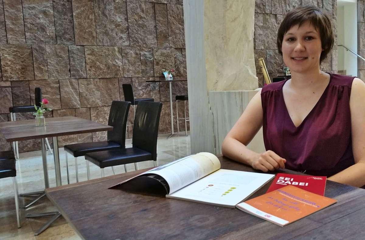 Jaana Espenlaub setzt sich für Bildungsgerechtigkeit ein. Foto: Eva Funke