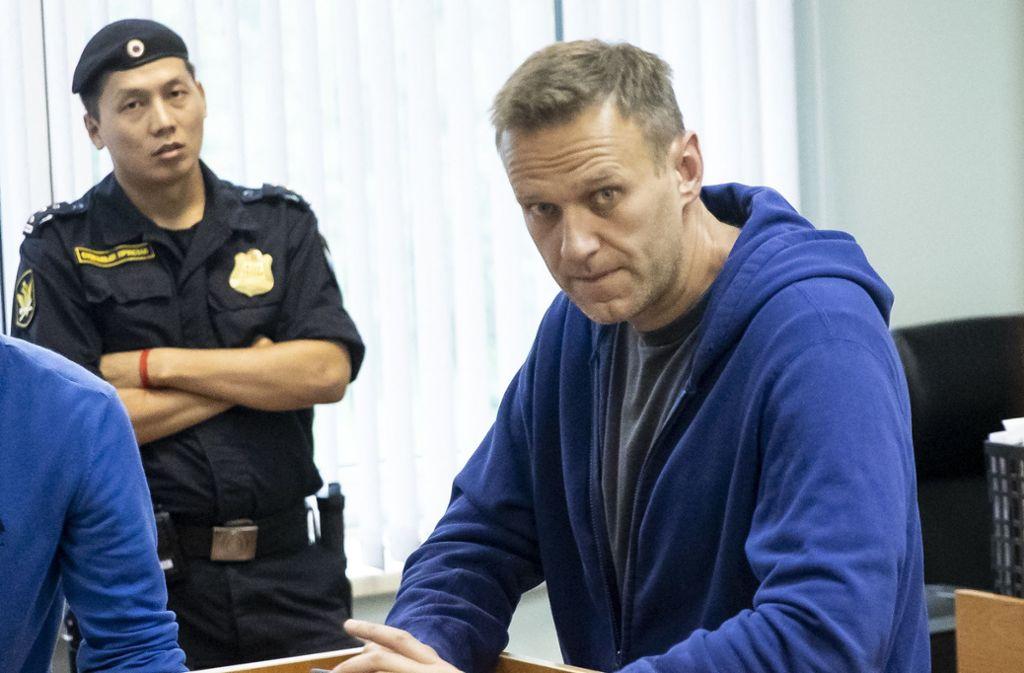 Die Ärztin von Alexej Nawalny schließt eine Vergiftung als Ursache für die Erkrankung nicht aus. Foto: dpa