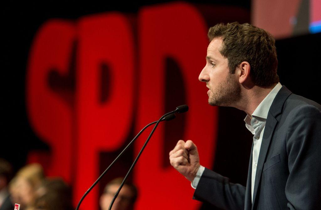 Leon Hahn, dem früheren Vorsitzenden der baden-württembergischen Jusos, wird vorgeworfen, gegen das Datenschutzgesetz verstoßen zu haben. Foto: dpa
