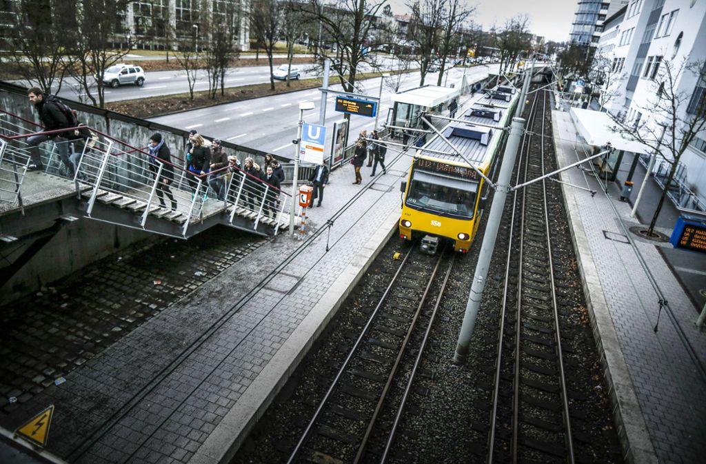 Viele SSB-Mitarbeiter wurden im Laufe der Jahre  vom Motivationstrainer Andreas Braun wieder aufs Gleis gesetzt. Foto: Lichtgut/Leif Piechowski
