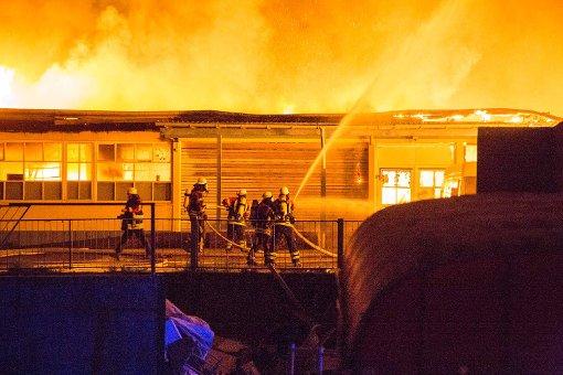 Großbrand fordert Millionenschaden