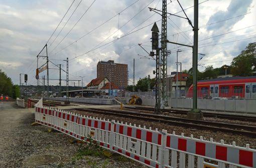 Intercity hält zeitweise in Vaihingen