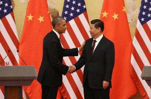 USA und China einigen sich auf Ziele