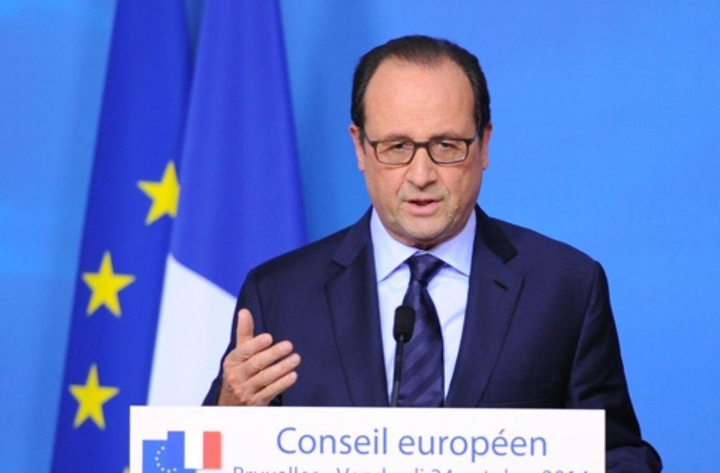Frankreichs Präsident Hollande bekommt aus Brüssel keine gelbe Karte. Foto: Getty