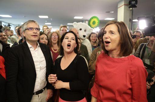Volksparteien verlieren - Grüne und Rechte mit Zugewinnen