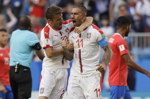 Serbien gewinnt dank Kunstschuss gegen Costa Rica
